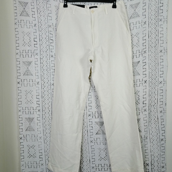 Banana Republic Other - NWT Cream Banana Republic Linen Dawson Pants 34L